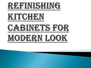 How Will You Refinish Your Kitchen Cabinets?