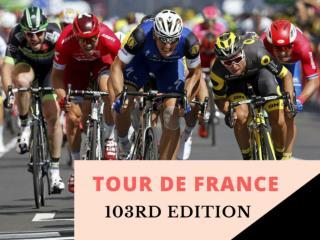 Tour de France 103rd edition