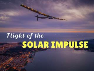 Flight of the Solar Impulse