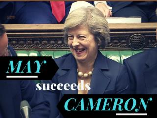 May succeeds Cameron