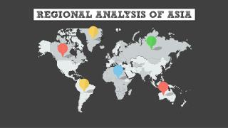 Regional Analysis of Asia