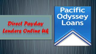 Direct Payday Lenders Online Uk