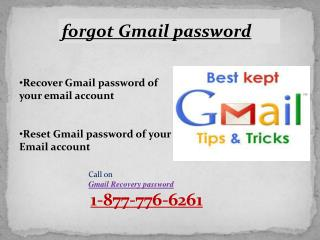 Call 1-877-776-6261 Gmail reset password for password issue