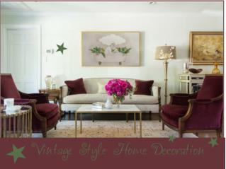 Vintage Style Home Decoration