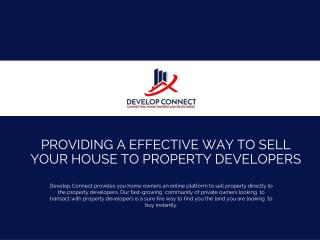 Sell Your Property Without an Agent -  Develop Connect