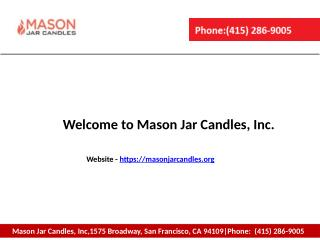 Private Label Candles Wholesale