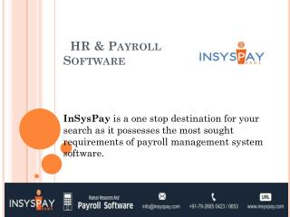 HR & Payroll Software in Ahmedabad