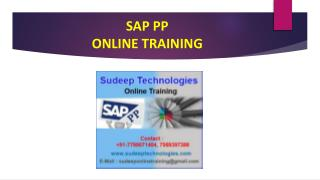 sap pp online course training at india|usa