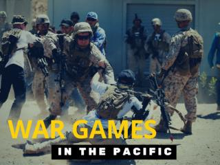 War games in the Pacific