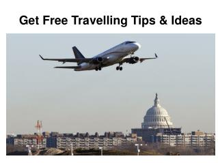 free travel tips