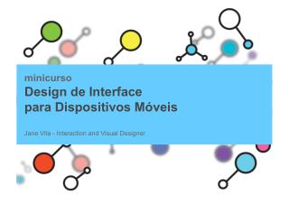 Mini Curso - Design de Interface para Dispositivos Móveis