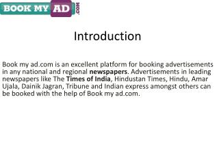 Book Matrimonial Classified Newspaper Ads in Times of India | Bookmyad