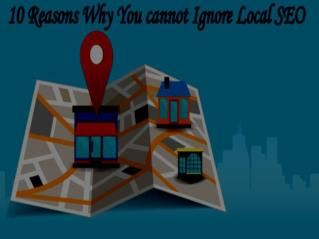 Why you cannot underestimate local seo?