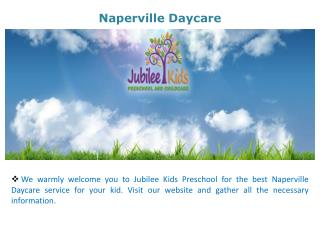 Naperville Daycare
