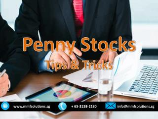 Penny Stocks Tips & Trick
