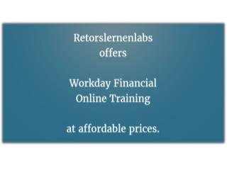 Workday Financial Online Training