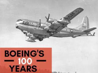 Boeing's 100 years