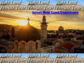 Israel Holy land experience