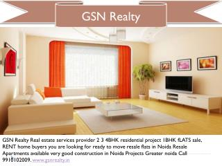 4BHK residential apartments Resale Flats in Noida