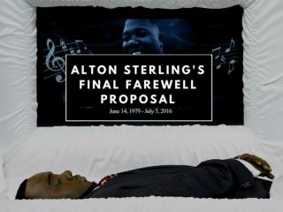 Alton Sterling's final farewell