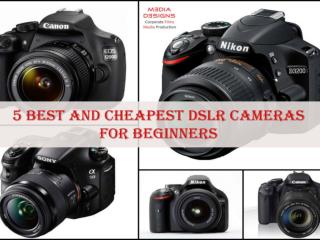 5 Best and Cheapest DSLR Cameras for Beginners.pdf