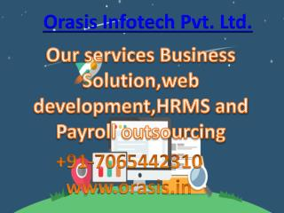 Orasis Infotech Savvy HRMS is a Browser based HR and Payroll Application
