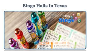 Bingo Halls In Texas
