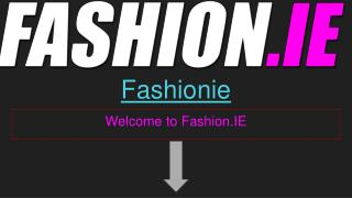 Online fashion, Fashion