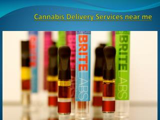 cannabis delivery services in california usa