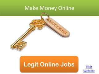 Make money online fast