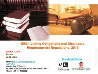 SEBI (Listing Obligations and Disclosure Requirements) Regulations, 2015