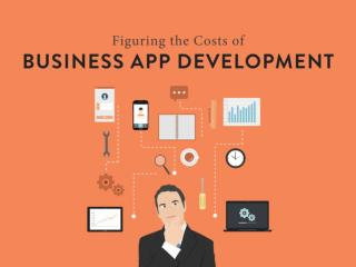 Figuring Out the Costs of Business App Development