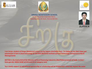 Suyam Siragu Educational Appeal