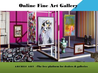 Online Fine Art Gallery