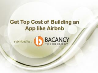 Get Top Cost of Building an App like Airbnb