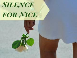 Silence for Nice
