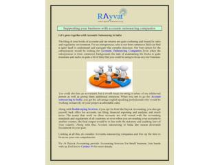 Accounts outsourcing companies