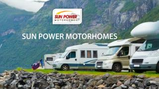 Start Your Adventures with Sun-Power Motorhomes