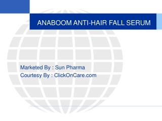 ANABOOM ANTI-HAIR FALL SERUM