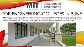Computer Engineering Colleges in Pune