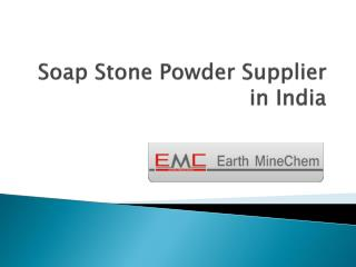Soap Stone Powder Supplier in India