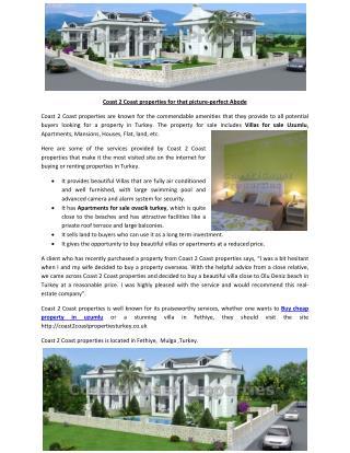 Buy cheap property in uzumlu