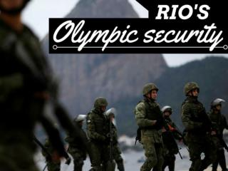 Rio's Olympic security