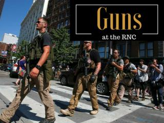Guns at the RNC