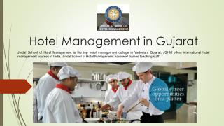 Top Hotel Management College in India