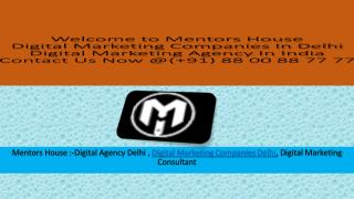 Digital Marketing Services In Delhi