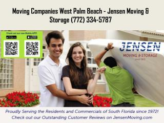 Moving Companies Port St Lucie FL