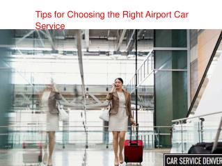 Airport Car Service