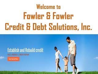 Professional Credit Repair Services