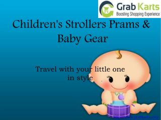 Children's Strollers | Prams & Baby Gear